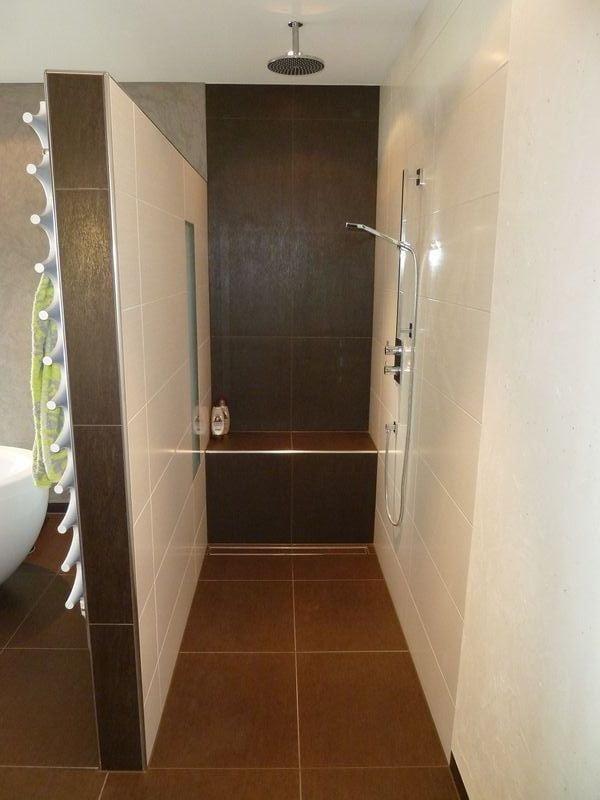 Badezimmer dusche gemauert  Gemauerte Dusche Grundriss | gispatcher.com