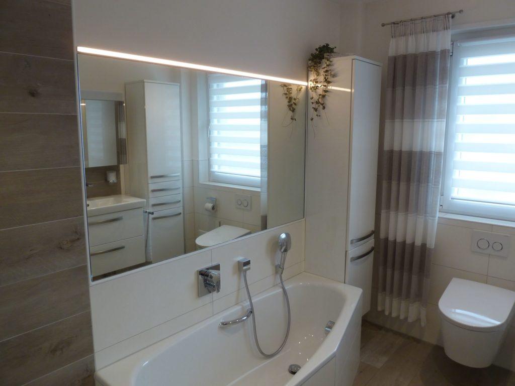 Traumhaft elegantes Bad mit offener Dusche in Neuhof | WILL Bad ...