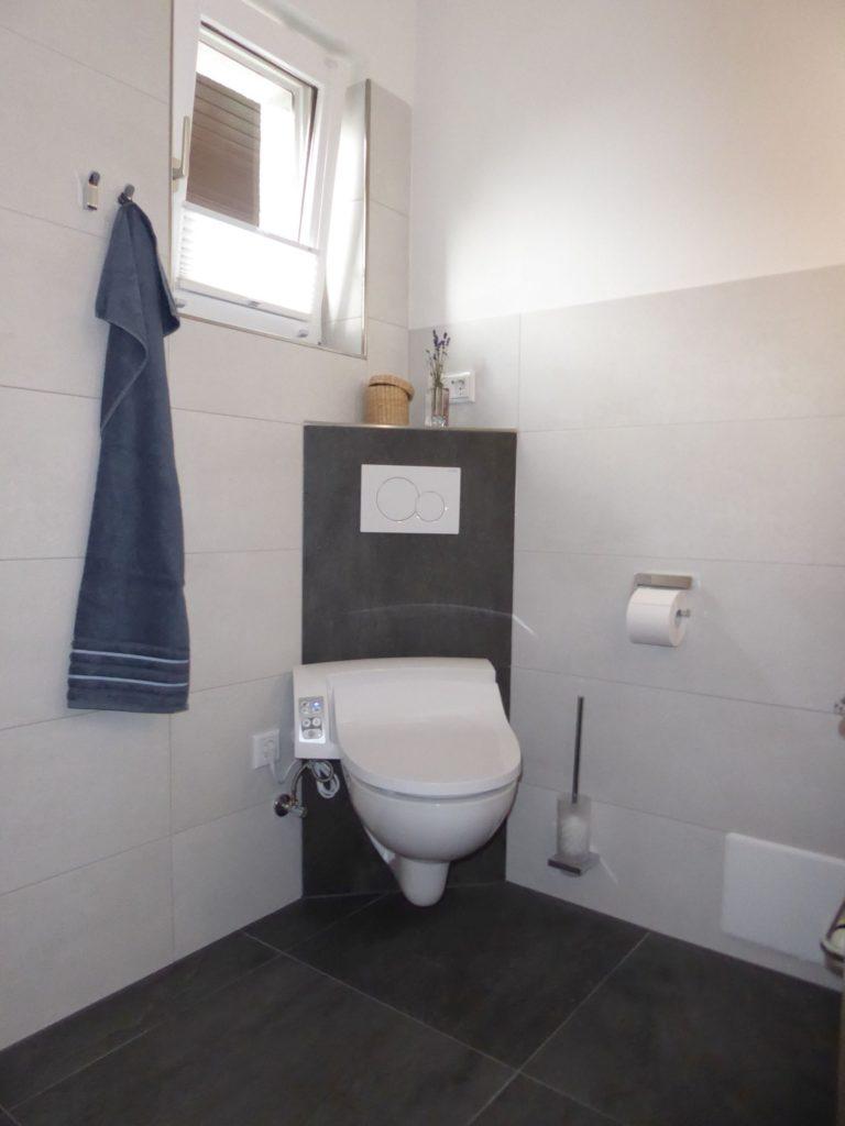 badrenovierung in fulda mit atmungsaktivem putz und dusch-wc mit